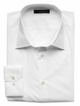 Slim fit stretch-poplin