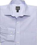 Blue Plaid Sportshirt