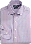 Purple Checked Shirt